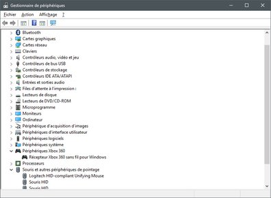 Windows 10 Threshold 2 - Gestionnaire de périphériques