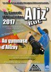 Affiche du championnat Régional d'escalade de bloc 2017