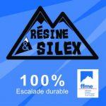 Banderole 1m x 1m Resine&Silex