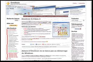 Site du logiciel Emoticon http://emoticon.gregland.net