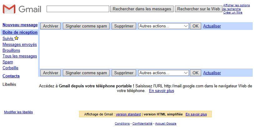 Gmail-HTML-simplifie